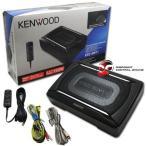 Kenwood(ケンウッド) Car Under Seat Super Slim Powered サブウーファー Aluminum Enclosed