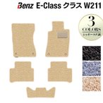 ベンツ Eクラス (W211) フロアマット / シャギーラグ調 HOTFIELD