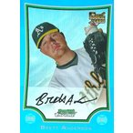 ブレット・アンダーソン MLBカード Brett Anderson 2009 Bowman Chrome Rookie Card Blue Refractors 17/150