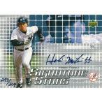 松井秀喜 MLBカード 2004 Upper Deck Signature Stars Blue Ink 293/324