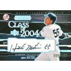 松井秀喜 MLBカード 2004 UD Diamond All-Star Class of 2004 Autographs 065/100