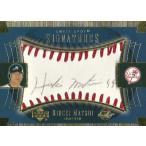 松井秀喜 MLBカード 2003 Sweet Spot Signatures Black Ink