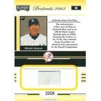 松井秀喜 MLBカード 2003 Playoff Portrats Materials 22/25