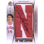 ヴィニー・デル・ネグロ バスケカード Vinny Del Negro 12/13 SP Authentic By the Letter Signatures 54/75
