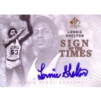 ロニー・シェルトン バスケカード Lonnie Shelton 12/13 SP Authentic Sign of the Times