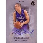 マイルス・プラムリー バスケカード Miles Plumlee 12/13 SP Authentic Base Autograph Parallel