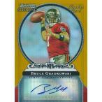 ブルース・グラドコウスキー NFLカード Bruce Gradkowski 2006 Bowman Sterling Gold Rookie Autographs 229/900