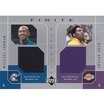 ショッピングジョーダン Michael Jordan/Kobe Bryant 2002/03 Upper Deck Finite Elemets Dual Warm-Ups