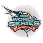 【フロリダ マーリンズ】 MLB 2003ワールドシリーズ優勝記念 ロゴパッチ (メジャーリーグ) (野球) (Florida Marlins) (Logo Patch)