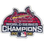 【セントルイス カージナルス】 MLB 2006ワールドシリーズ優勝記念 ロゴパッチ (メジャーリーグ) (野球) (St.Louis Cardinals) (Logo Patch)
