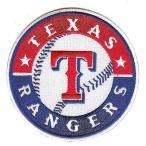 (セール)テキサス・レンジャーズ プライマリー・クラブ・ロゴパッチ / Texas Rangers