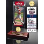 The Highland Mint (ハイランドミント) 大谷翔平 ロサンゼルス・エンゼルス MLBピッチングデビューブロンズコイン入りアクリルデスクトップ
