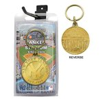 The Highland Mint (ハイランドミント) MLB ニューヨーク・ヤンキース ブロンズ・チーム・キーチェーン New York Yankees Bronze Team Keychain