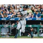 """イチロー 3000本安打記念 直筆サインフォト スウィング 8x10 """"3000""""入り (Ichiro Signed '3000 Hit Swinging' 8x10 Photo w/ """"3000"""" Insc)"""