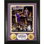 コービー・ブライアント 30000得点達成記念 フォトプラーク (Kobe Bryant 30,000 Career Points Gold Coin Photo Mint)