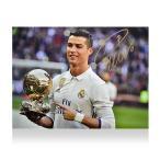 クリスティアーノ・ロナウド 2016 バロンドール受賞 直筆サインフォト Signed Real Madrid Photo: 2016 Ballon d'Or Winner / Cristiano Ronaldo
