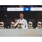 クリスティアーノ・ロナウド レアル・マドリード バロンドール5回受賞 直筆サインフォト / Cristiano Ronaldo