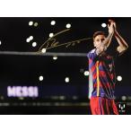 リオネル・メッシ 直筆サインフォト FC バルセロナ カンプ・ノウ レジェンド (Lionel Messi Official Signed Barcelona Photo:Camp Nou Legend) 通常サイズ