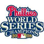 MLB 2008 フィラデルフィア・フィリーズ ワールドシリーズチャンピオン・ロゴパッチ