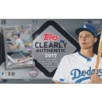 MLB 2017 Topps Clearly Authentic Baseball ボックス(Box) 8/16入荷!