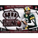 セール!NFL 2015 Panini Crown Royale Football ボックス(Box)
