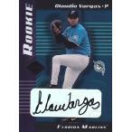 MLBカード【クラウディオ バルガス】2001 Leaf Limited Rookie Autograph 1000枚限定! (0181/1000)(Claudio Vargas)