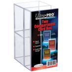 (ウルトラプロ UltraPro 収集用品) カード収納用ケース プラスチックケース(トップローダー,1スクリューダウン用) (#81251)
