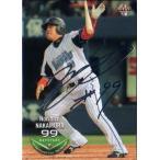 BBM2013 ベースボールカード セカンドバージョン 銀箔サインパラレル No.547 中村紀洋