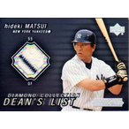 松井秀喜 2004 Upper Deck Diamond collection Jersey Card Hideki Matsui