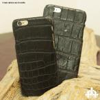 iPhone6sPlus iphone6Plus カバー クロコダイル天然 ワニ 本革 スマホ ケース