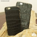 iphone6 iphone6s カバー クロコダイル天然 ワニ 本革 スマホ ケース