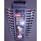 ショッピング工具 工具セット プロ用 スパナ&ラチェットレンチセット 12pc