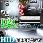 6000K・D2C/D2R.D2S共用タイプ2/2個セット/純正交換HIDバルブ/バーナー12V/24V共用/ブラガ