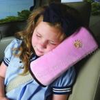 子どもの眠りをサポート、シートベルトクッション