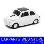 Autodrive(オートドライブ) AUTOMOUSE(オートマウス) 無線マウス フィアット500 OLD ホワイト