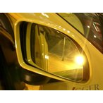 アウトバーン 広角ドレスアップサイドミラー/ゴールド フェラーリ F355 94/01〜99/01