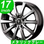 サマータイヤホイールセット 215/55R17 マナレイスポーツ ユーロスピード G-10 メタリックグレー 送料無料