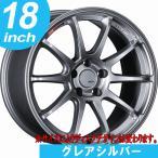 【送料無料】■225/40R18■タナベ SSR GT V02■グレアシルバー