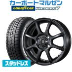 スタッドレスタイヤホイール4本セット トピー LVF II グッドイヤー ICE NAVI アイスナビ 7 日本製  155/65R14