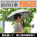 日傘 長傘 スパッタリング ヌーベルジャポネ スライド ショート傘 軽量 丈夫 UV レディース 日本製 メンズ 母の日