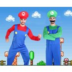 ショッピングハロウィン ハロウィン コスプレ スーパーマリオ風風 マリオ風Luigi  ゲームコス おもしろコスプレメンズ 大人 変装 イベント 学園祭