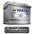 VARTA Silver dynamic/アルファロメオ/147/GF-937AB【D15_563 400 061】高性能バッテリー/2年保証