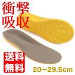 20〜29.5cm対応 サイズ調整 衝撃 吸収 インソール 衝撃吸収 中敷き クッション 靴 日本郵便送料無料 PK2