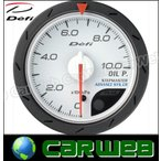 Defi (デフィ) 品番:DF08101 Defi-Link Meter ADVANCE CR 油圧計 白 52 (デフィリンクメーター アドバンス CR)