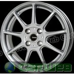 G.speed G01 (Gスピード G-01) メタリックシルバー 15インチ 5.5J PCD:100 穴数:4 inset:43 HOT STUFF [ホイール単品4本セット]