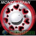 MONZA JAPAN K Quty レッドポリッシュ 15インチ 4.5J PCD:100 穴数:4 inset:43 [ホイール単品4本セット]