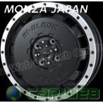 MONZA JAPAN (モンツァジャパン) HI BLOCK BALEX マットブラック/リムポリッシュ 14インチ 4.5J PCD:100 穴数:4 inset:45 [ホイール1本単位]
