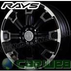 RAYS(レイズ) DAYTONA KCX 15インチ 5.0J PCD:100 穴数:4 inset:48 カラー:DK [ホイール1本単位]M
