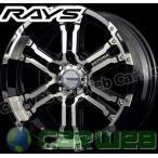 RAYS(レイズ) DAYTONA FDX 16インチ 6.5J PCD:139.7 穴数:6 inset:38 カラー:DC/BK [ホイール単品4本セット]M