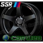 【SSR】 GTV01 (GTV01) 18インチ 7.5J PCD:100 穴数:5 inset:48 フラットブラック [ホイール1本単位] [H]